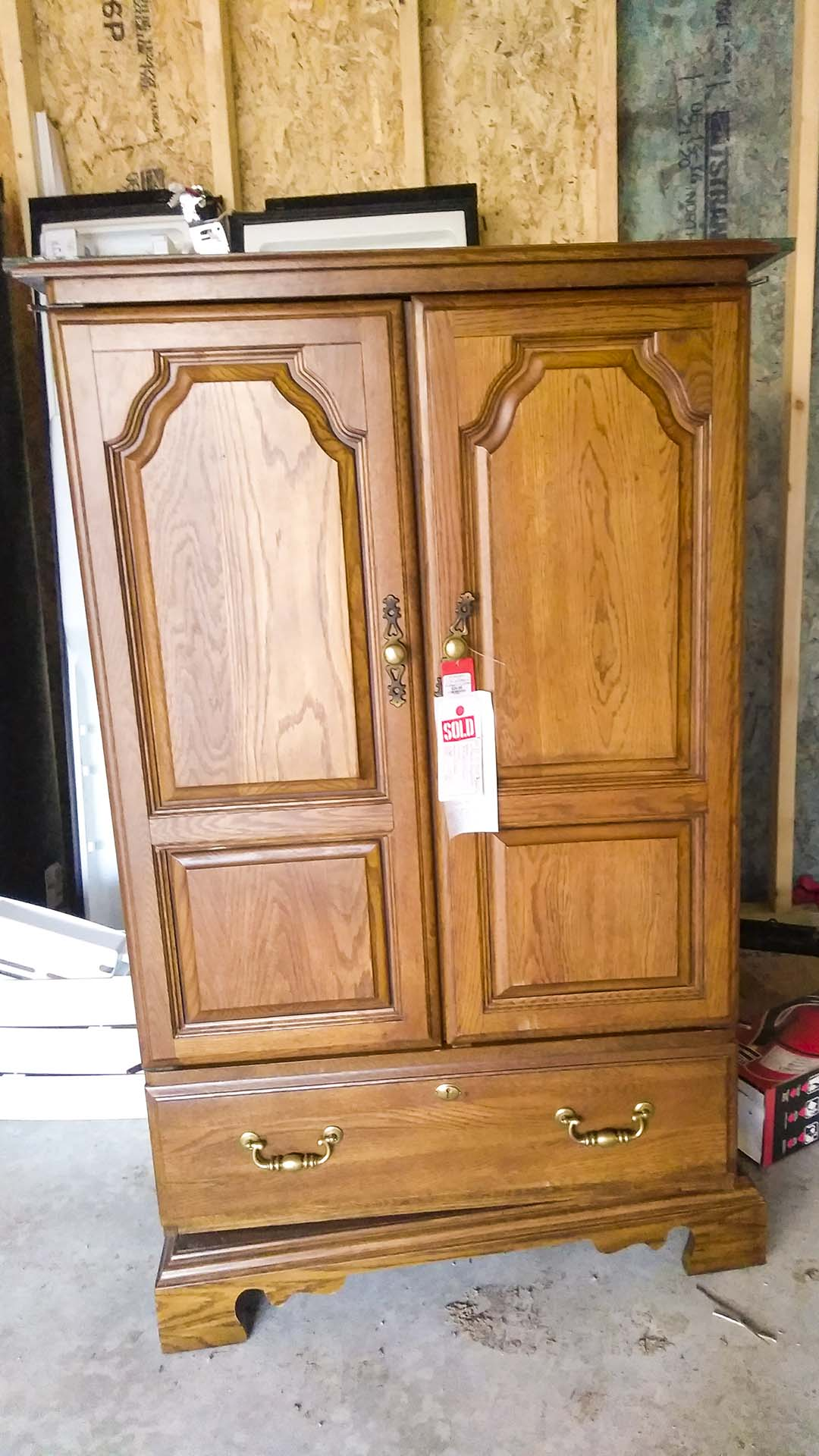 Armoire for Blue Room